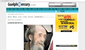 Is the Guelph Mercury mocking local charities?